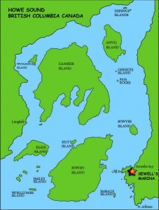 Howe Sound Map