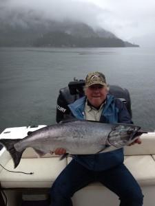 King Salmon Fishing Vancouver