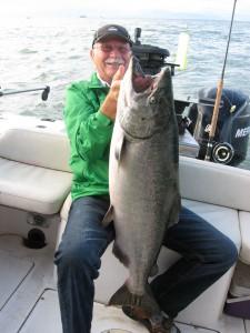 tyee salmon west vancouver