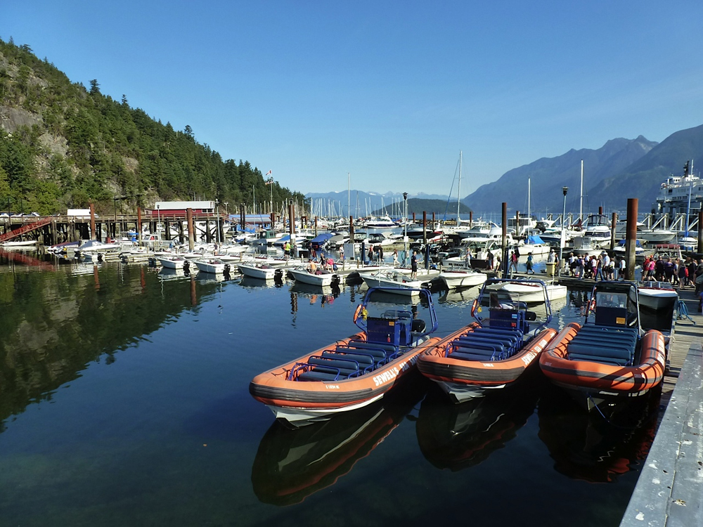 Guided marine sightseeing tours, west vancouver, Howe Sound, Sea to Sky