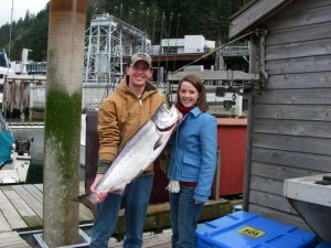 Corporate salmon fishing vancouver