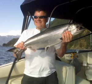king salmon fishing vancouver