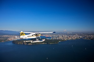Sea plane Vancouver, sieghtseeing